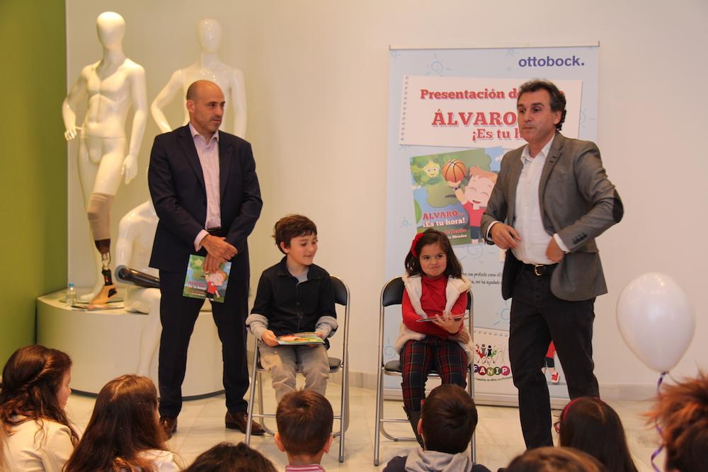"""Presentación cuento de Afanip """"Alvaro…¡ es tu hora !"""